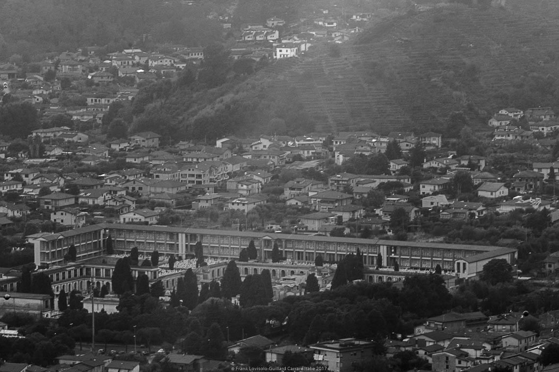 Carrara vista di altitudine