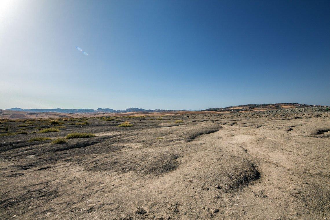 Sicilia - Riserva naturale integrale Macalube di Aragona - Vulcanelli