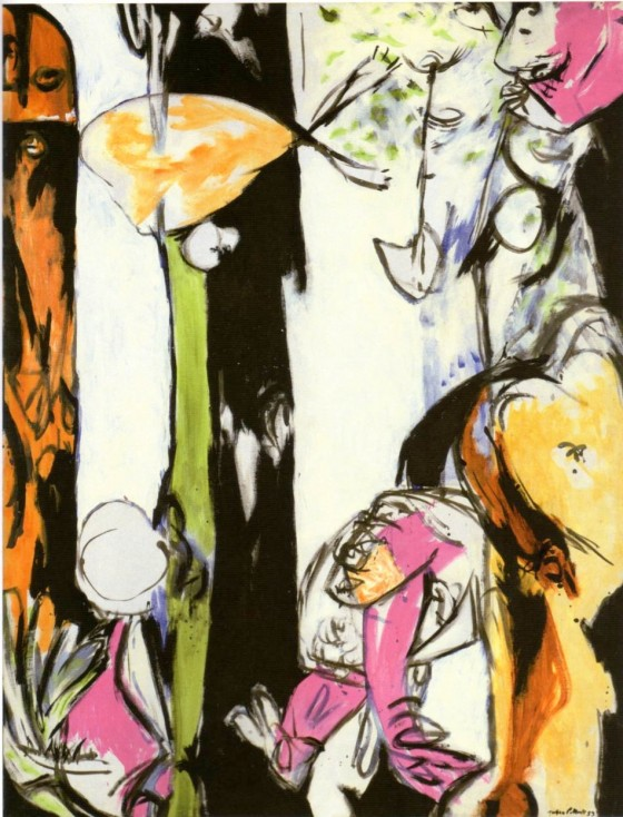Jackson Pollock  - Easter and the totem