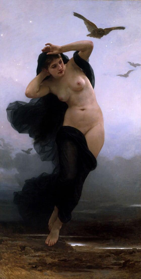 William-Adolphe_Bouguereau_(1825-1905)_-_La_Nuit_(1883) - nyx