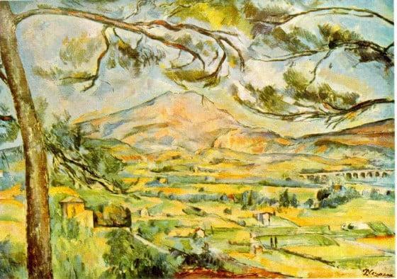 Paul Cézanne - st-victoire-1885