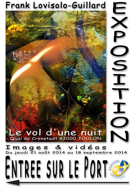 Le vol d'une nuit - Exposition à la Mairie d'Honneur de Toulon
