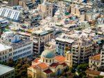 Athènes vue du Lycabette