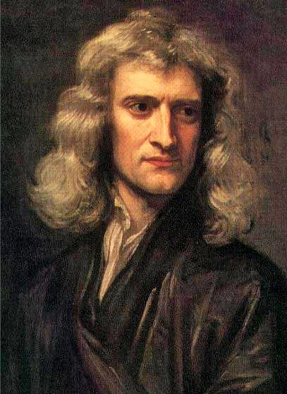 GodfreyKneller - IsaacNewton-1689- Math - lovisolo