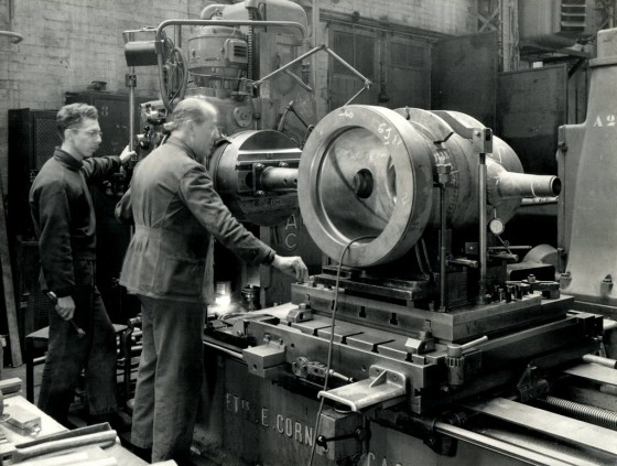 Léonce Camatte - Atelier des turbine Vidéo Atelier de Mécanique - lovisolo