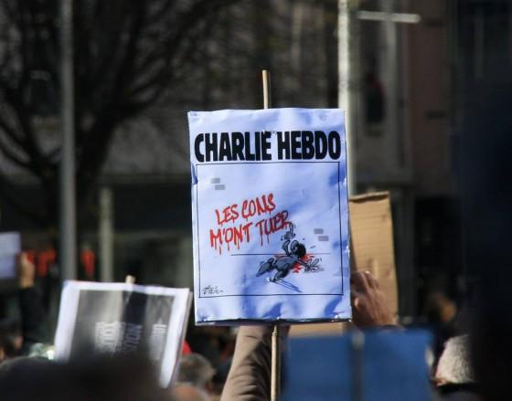 Charlie Hebdo - Manifestation - Toulon