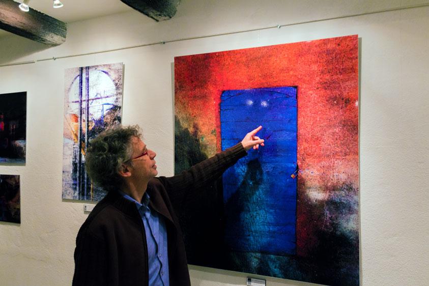 galerie Le 13 Bis - Le Vol dune nuit - lovisolo - Luc Patentreger