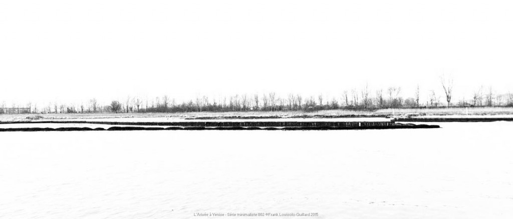 L'Arivée à Venise - Série minimaliste - lovisolo frank