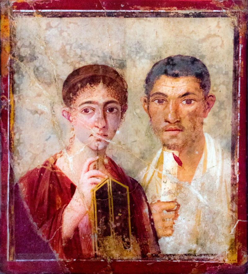 Paquius Proculus et son épouse - Pline - Lovisolo - Terentius Neo