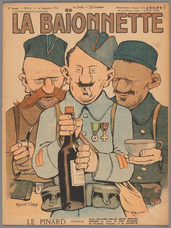 couverture baïonnette Pinard 1916