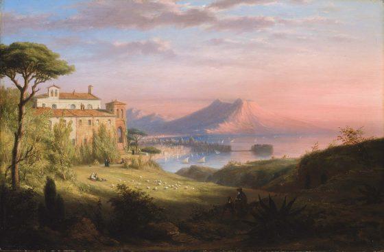 Baie de Naples - Robert Walter Weit - Corinne ou l'Italie