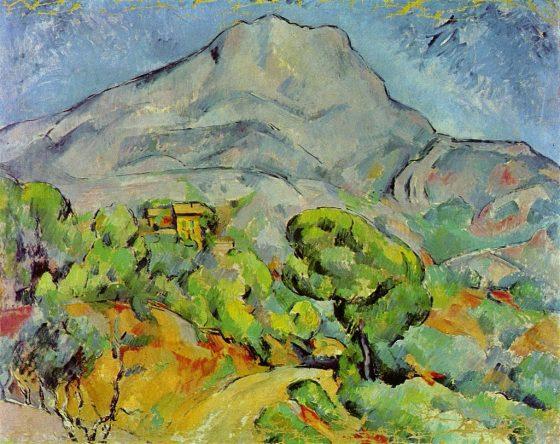 Ermitage - Cézanne, La Montagne Sainte-Victoire, 1900 -  ISBN 3936122202 - 2002