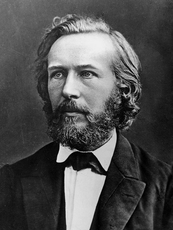 Ernst Haeckel (1834-1919), biologiste allemand.<br /> ©MP/leemage<br /> AA095106<br /> dbdocumenti<br /> 243<br /> 340<br /> 300<br /> 2868<br /> 4021<br /> Scala di grigio