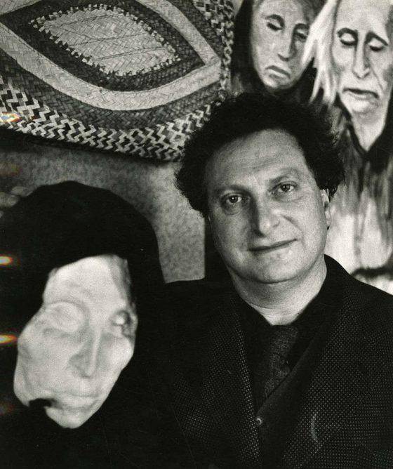 Matera Carlo Levi ritratto da Paolo Monti