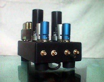 Frank Lovisolo - Préamplificateur RIAA expérimental à tubes électroniques  - Synthèse sonore