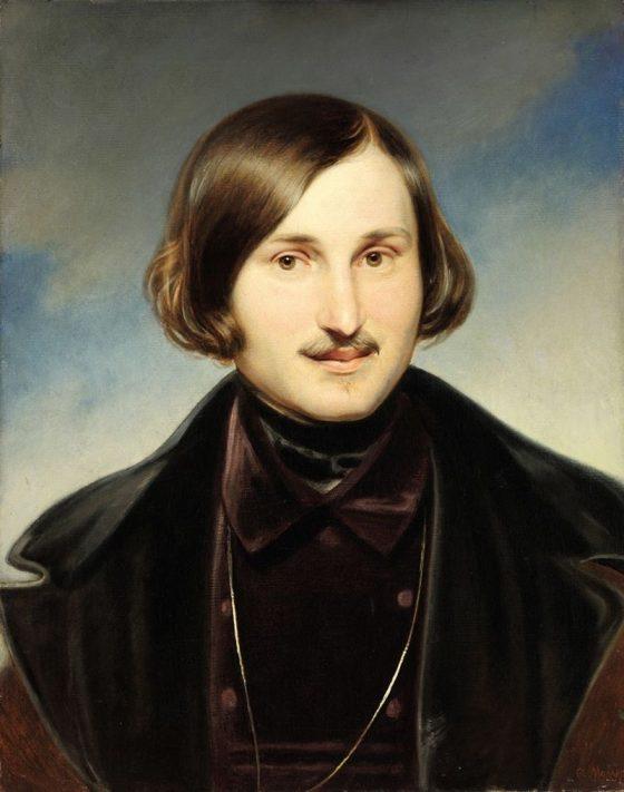 Saint-Pétersbourg - Portrait de Nicolas Gogol en 1840 par Otto Friedrich von Möller.