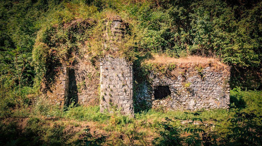 Vestige d'un Moulin à Gragnano - Vallée des Moulins à Gragnano - Italia