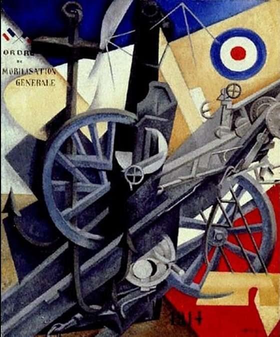 Gino Severini, The War (La Guerre), 1914
