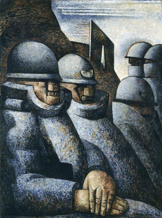 La Guerre - Marcel Gromaire