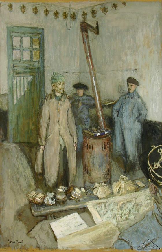 Édouard Vuillard - L'interrogatoire du prisonnier