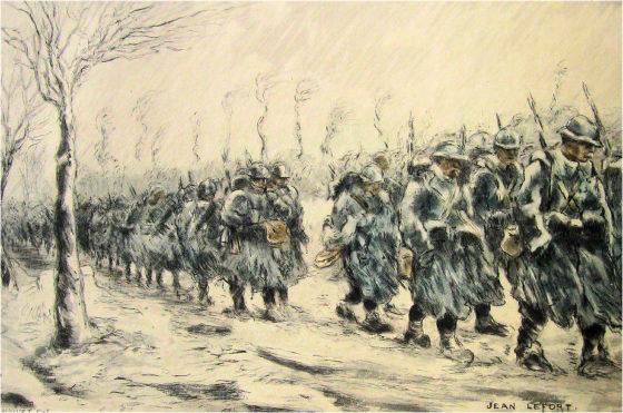 Jean Lefort  - La marche
