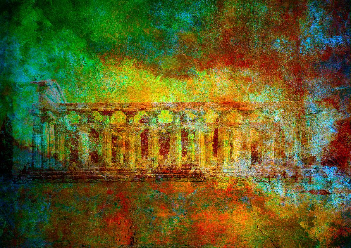 Paestum - Le temple d'Héra