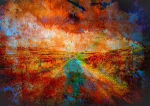 Un chemin en Lozère