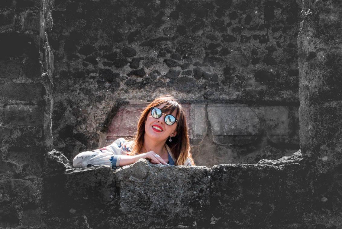 Amélie Lovisolo à Pompei
