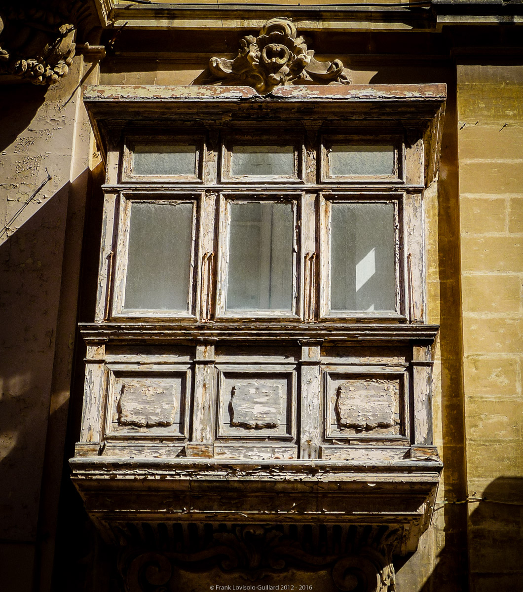 A Malte les murs ont des Oriels