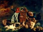 Eugène_Ferdinand_Victor_Delacroix-La Barque de Dante