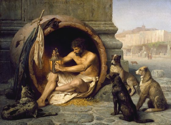 1280px Jean Léon Gérôme   Diogenes   Walters 37131