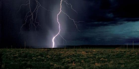 demaria the lightning field