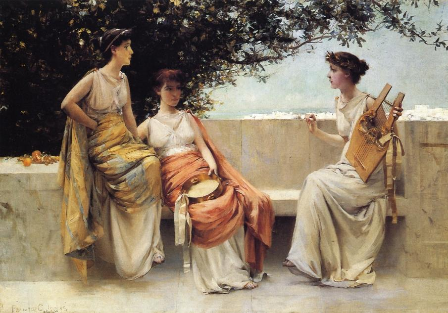 Sappho, 1895 de Francis Coates Jones