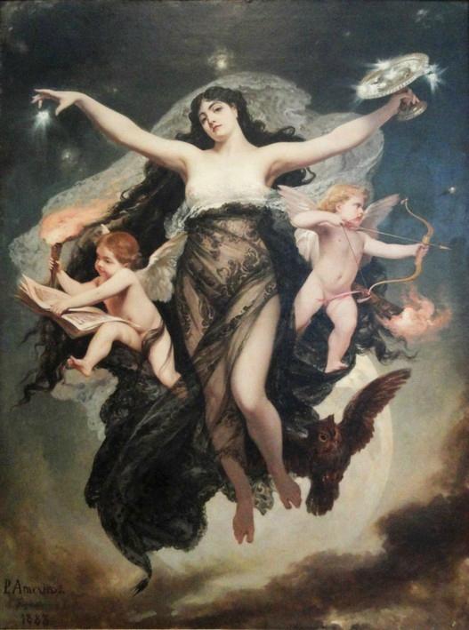 La Nuit ( Nyx ) - 1886 - Pedro Américo