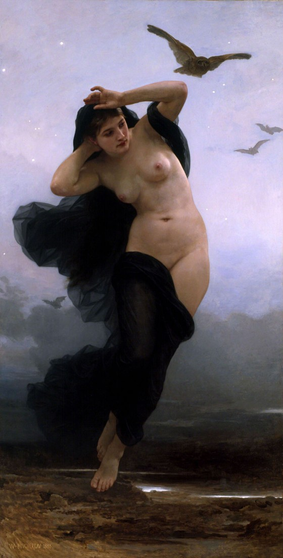 William-Adolphe_Bouguereau_(1825-1905)_-_La_Nuit_(1883) - nyx