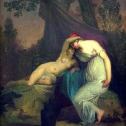 Sappho and Erinne (in the Garden of Mythilene)