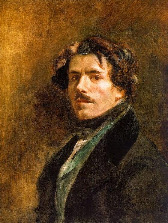 Eugène Delacroix : Le lit défait - drap Blanc - lovisolo