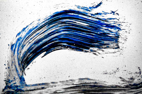 N°013 Bleues Ephémères Frank Lovisolo Guillard