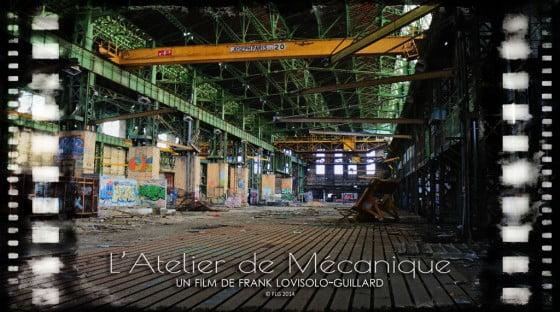 Lovisolo - Affiche-des-film-atelier-de-mécanique-003 - Frank Lovisolo - Exposition virtuelle le vol d'une nuit