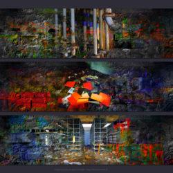 Douze minéralisations photographiques et leurs trois résultantes perturbées
