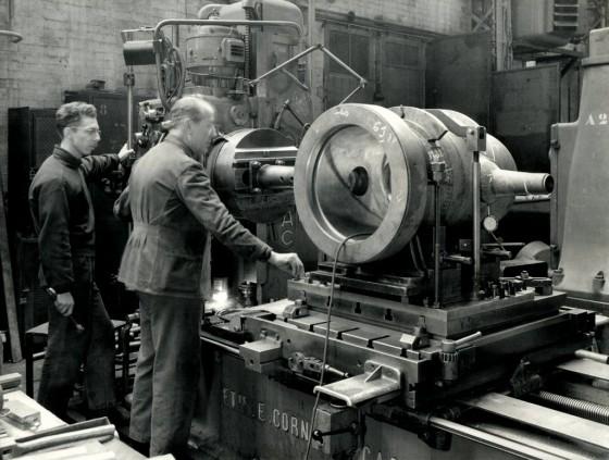 L%C3%A9once CamatteAtelier des turbine 11 02 1962 Mon Onc