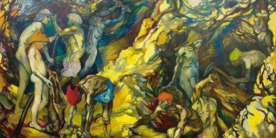 Mineurs du soufre Sicile Gusso