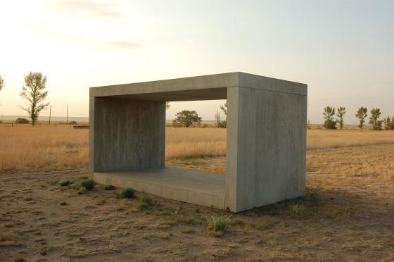 Donald Judd - Concrete Blocks - L'Arrivée à Venise - Série minimaliste - lovisolo frank