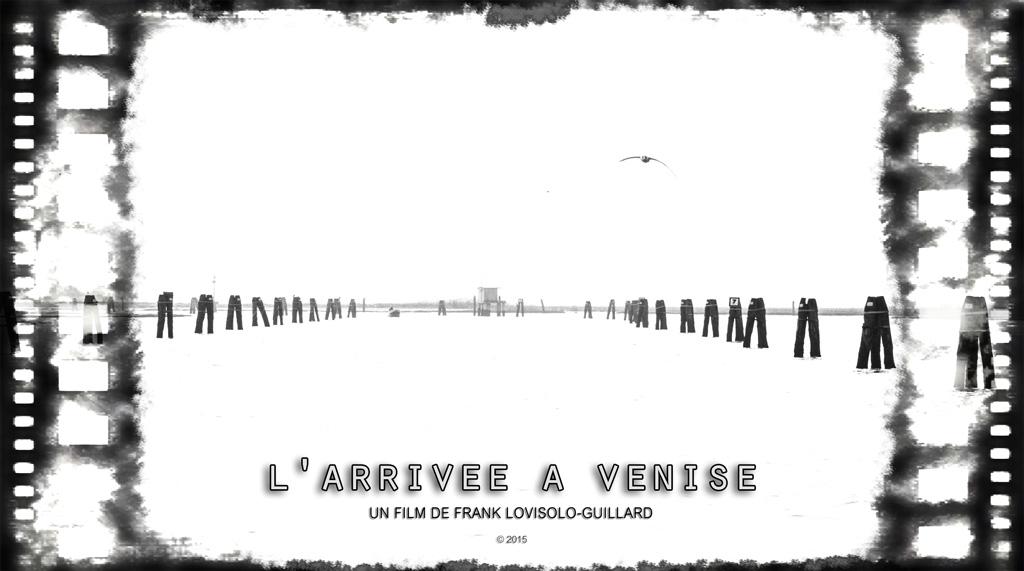 Arrivée Venise Affiche