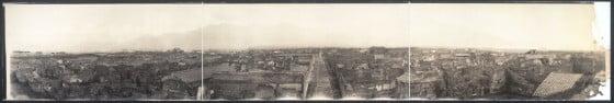 Panoramic photograph - 1909 - Pline - Herculanum - Pompei - Lovisolo