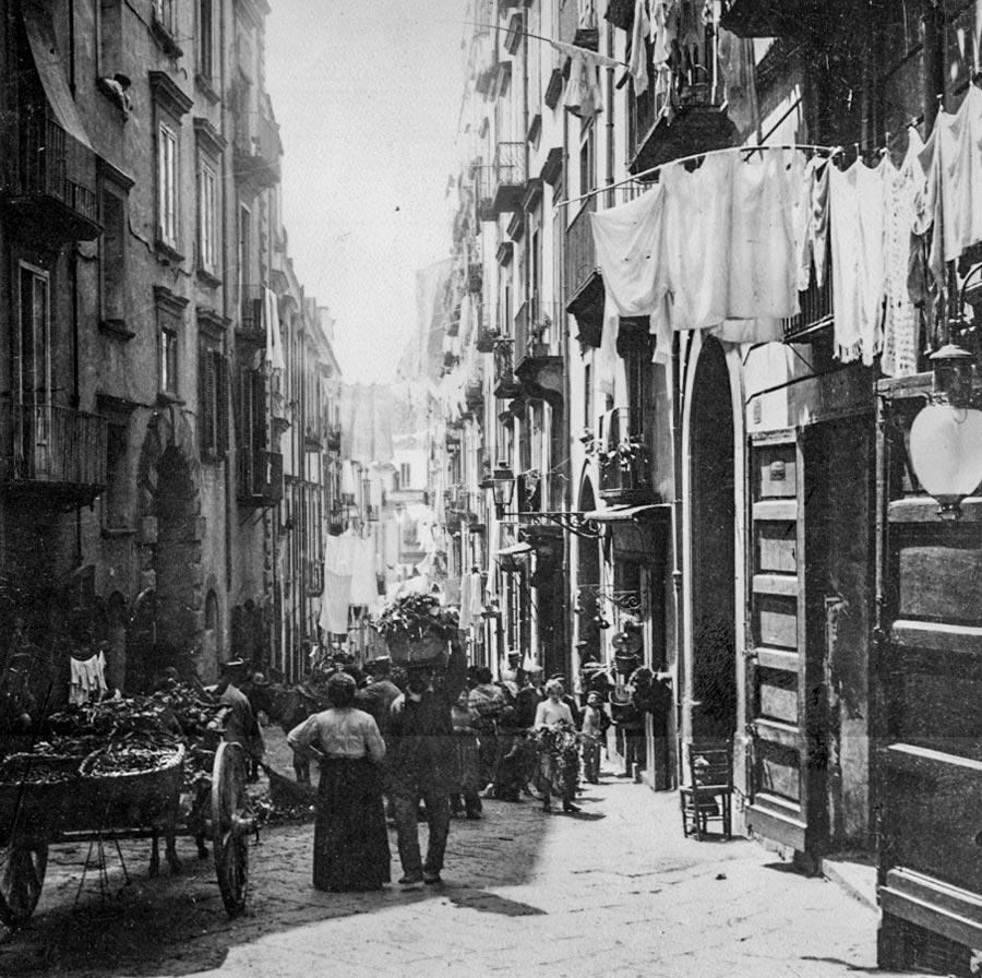 Anonyme Napoli Santa Lucia Naples Vers 1900