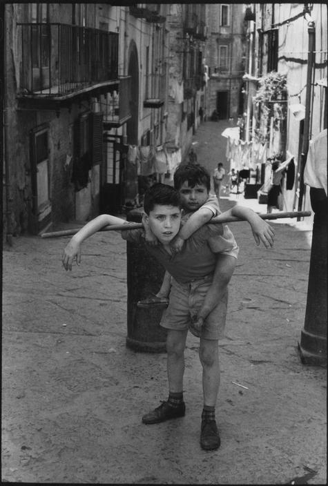 Henri Cartier-Bresson -Naples - 1960