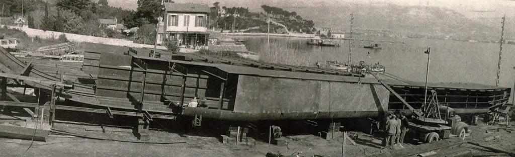 Balaguier Chantier vers 1920