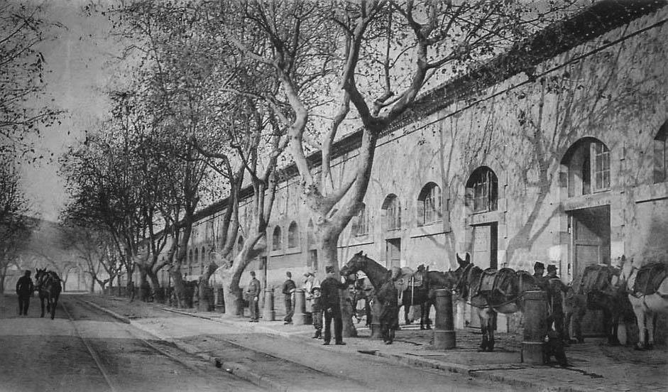 Toulon : Le Mourillon Boulevard Bazeille vers 1900