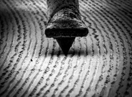 vinyl microsillon microscopeFB
